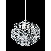 Endon Lighting BC Lamp Pendant in Chrome