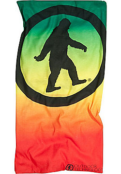 Outdoor Tech Arctic Yowie Neck Gaiter Rasta Fade