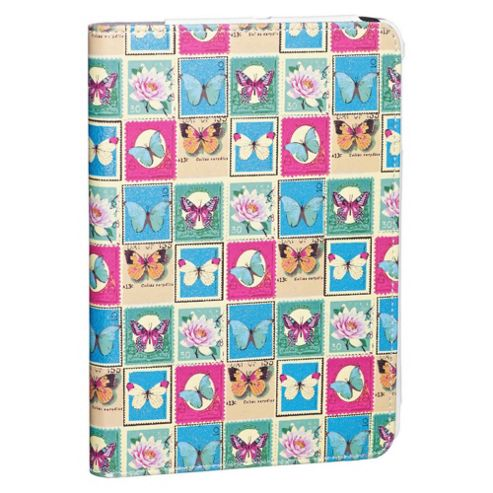 Accessorize Case/Stand for iPad Mini - Butterfly Stamps
