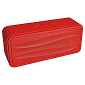 Divoom Onbeat-200 Portable Bluetooth Speaker, Red