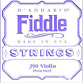D'Addario Fiddle 4/4 Size Violin String Set
