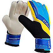 Goalkeeper Gloves Mitre Magnetite - Black & Blue
