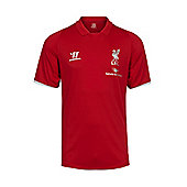 2014-15 Liverpool Warrior Polo Shirt (Red) - Red