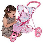 Tatty Teddy 3 Wheel Stroller