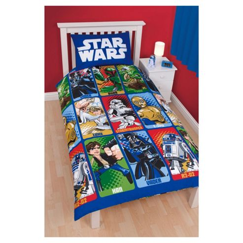 Star Wars Single Duvet Cover Set