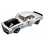 Chevrolet Camaro (White & Black) - Scalextric - C3221