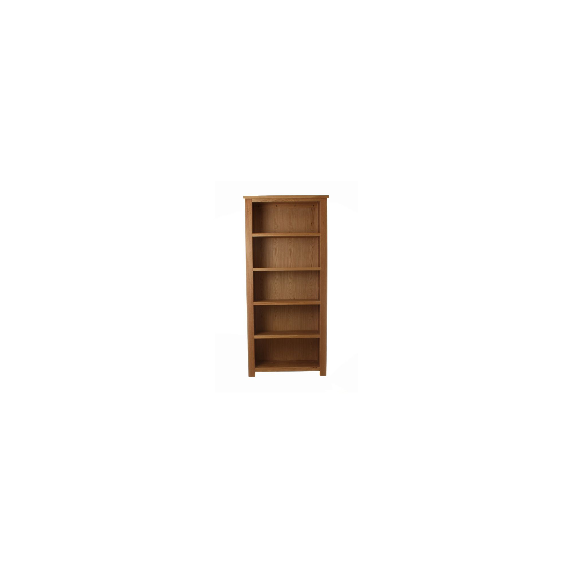 Baumhaus Aston Oak Large Open Bookcase at Tesco Direct