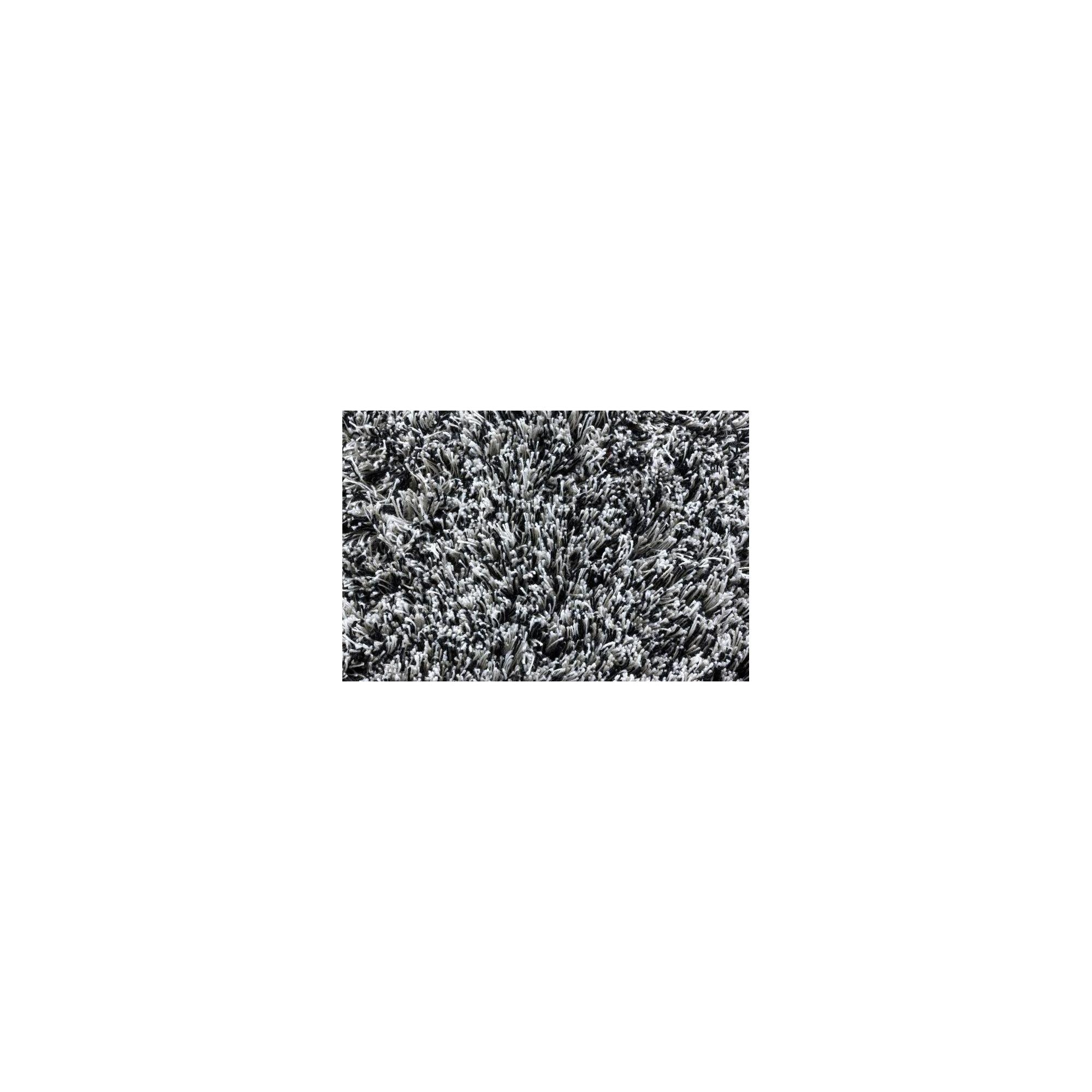 Linie Design Timeless Black Shag Rug - 300cm x 200cm at Tesco Direct