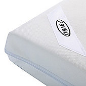 Obaby Foam 140cm x 70cm Cot Mattress