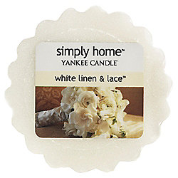 Yankee Candle Melt, White Linen and Lace