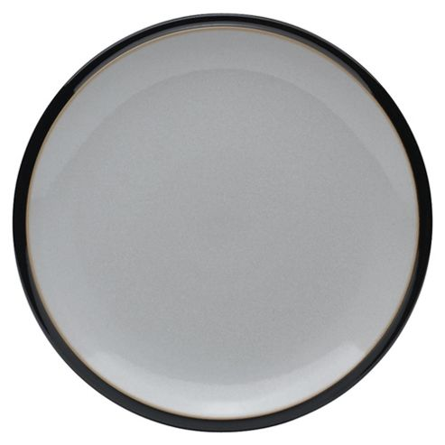 Denby Everyday Side Plate, Black Pepper