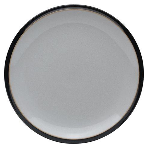 Denby Everyday 22.5cm Dessert Plate, Black Pepper