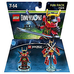 LEGO DIMENSIONS FUN PKNINJA NYA