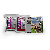 Daisy Cow 13.5 Tog University Bedding Bundle - Double