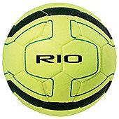Precision Rio Indoor Football (Yellow/Black) Size 4
