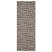 Swedy Dama Dark Beige Rug - Runner 60 cm x 240 cm (2 ft x 7 ft 10 in)