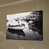 Parvez Taj Still Dock Wall Art - 76 cm H x 114 cm W x 5 cm D