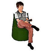 ValuFurniture Large Gamer Dark Green Bean Bag