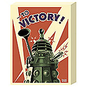 Dr Who Vintage Dalek Canvas 30x40