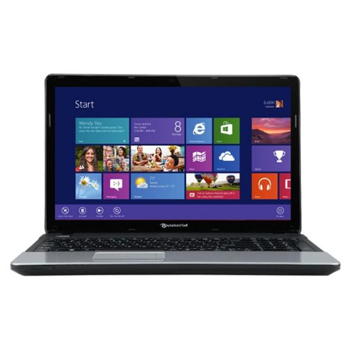 Packard Bell TE11BZ 15.6 inch AMD Dual-Core, 6GB RAM, 500GB, Windows 8, Black Laptop