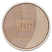 Maybelline Dream Sun Triple Bronzing Powder 01 Blonde
