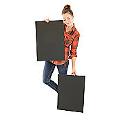 Biodegradable Foam Board - 5mm - Black - A2 - 2pk