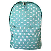 Tesco Spotty Torquay/White Backpack