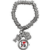 Pauls Boutique Ladies Roxy Stainless Steel Bracelet Watch PA008SL