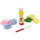 Bigjigs Toys BJ700 French Knitting Doll (Two Supplied)