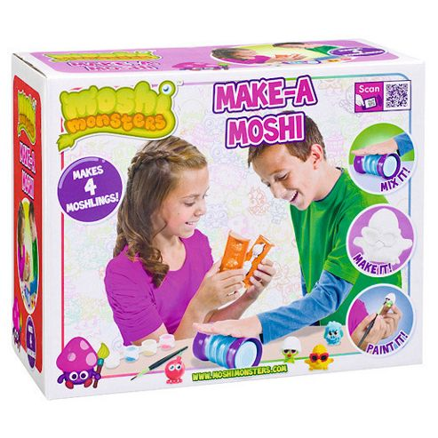 Moshi Monsters Make A Moshi