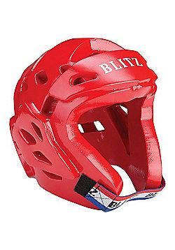 Blitz Dipped Foam Hood - Red