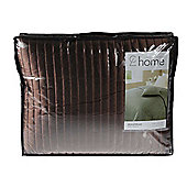 Catherine Lansfield Home Generic Bedspread Chocolate 240 x 260cm