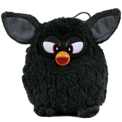 Furby 14cm Soft Toy - Black