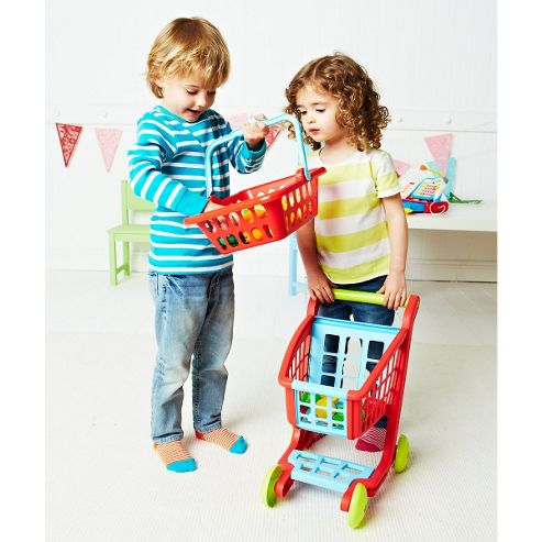 ELC Shopping Basket - Red
