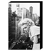 Marilyn Monroe City Canvas 60x40 cm