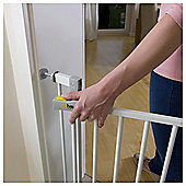 Hauck Open N Stop Safety Stair Gate, White