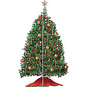 Build A Christmas Tree Wall Sticker