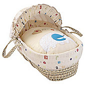 Clair de Lune ABC Palm Moses Basket
