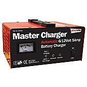 6/12v 5 amp Metal Case Battery Charger