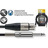 Stagg NMC6XP Premium N Series XLR-Phone Mic Cable - 6m