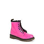 Dr Martens Infants Delaney Hot Pink Boots - 1