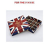 Charbonnel Et Walker Milk & Dark Chocolates In Union Jack Box