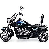 Caretero Rebel Battery Operated Ride-On Motobike (Black)