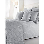 Hotel Collection Damask Double Duvet Set In Blue