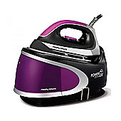 Morphy Richards 42223 2400w Power Steam Elite Steam Generator - Plum and Black