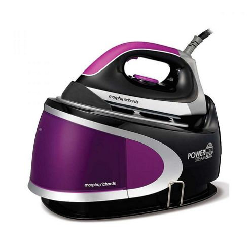 Morphy Richards 42223 2400w Pressurised Steam Generator Iron in PlumBlack