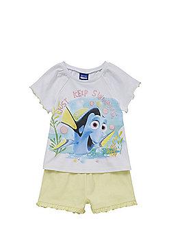 Disney Pixar Finding Nemo Just Keep Swimming Shorts Pyjamas - Multi