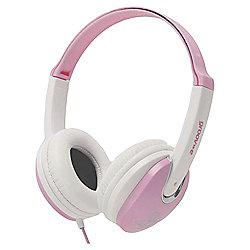 Groov-E Kidz DJ Style Headphone Pink/White