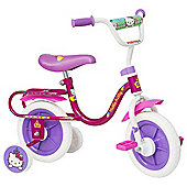 "Hello Kitty 10"" Kids' Bike with Stabilisers"