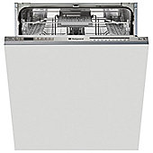 Hotpoint LTF 11M113 7C  Fullsize Built-in Dishwasher A+ Energy Rating Stainless Steel Steel Steel